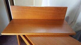 Floating wood shelf: £6 ONO