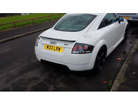 Rare white 1.8 Audi TT Quatro for sale