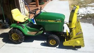 17hp john deer riding mower