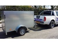 BOX CAR TRAILERS GALVANISED SINGLE & TWIN WHEEL MODELS AVAILABLE AT ARMAGH TRAILERS