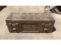 Old Metal Ammo Box ideal for tools