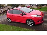 Ford Fiesta Zetec S RED 59 plate