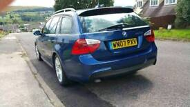 Bmw 320 d M sport touring tidy for age, bmw history