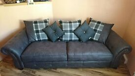 FOR SALE BRAND NEW 4 Seater Goulding sofa in Gray fabric.