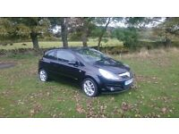 Vauxhall Corsa Black 1.4 sxi; 57 Plate, 3 door, 12 months MOT. Genuine and reliable car.