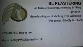 Sl plastering services