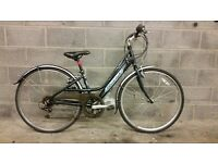 FULLY SERVICED LADY CITY RALEIGH METRO WITH ALUMINIUM FRAME BICYCLE