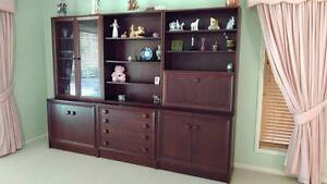 SOLID WOOD WALL UNIT Carindale Brisbane South East Preview