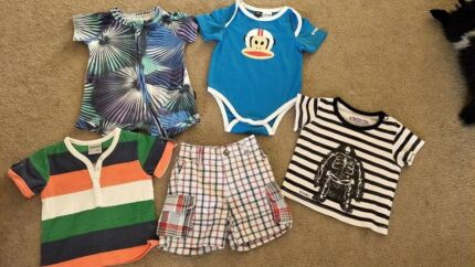BABY BOYS BULK SUMMER CLOTHING - SIZE 000/00