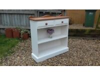Solid Country Pine Bookcase Drawers