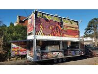 Unique 20ft Mobile Catering Trailer/ Burger van