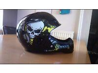 Full face bike helmet 50.5 - 54.5cm