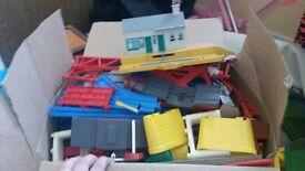 Thomas tracks and buildings bundle