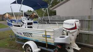 2005 4.8m Stacer Centre Console Boat and 2013 90hp Evinrude E-tec Rangeville Toowoomba City Preview