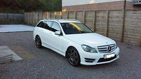 Mercedes C220 CDI AMG SPORT +
