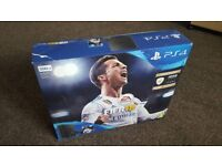 Playstation 4 500GB with 2 games: FIFA 18 & GTA V. Mint condition.