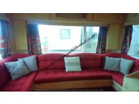 FULLY EQUIPPED TWO BEDROOM 4 / 5 BERTH CARAVAN TO LET, PERRANPORTH, CORNWALL