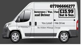 Man&Van 15.99 NottinghamBeeston, Long Eaton area(Insurance/Van/Driver/Fuel included) NoMileageCharge