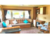 Double Glazed And Central Heated Static Caravan For Sale At The 12 Month Sandylands Ayrshire