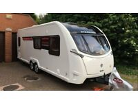 Sterling Elite 630 (Swift) Aircon/Auto Satellite-Top Spec-Bunks & Fixed bed-2016 Model-Warranty Inc