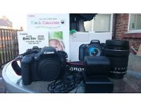 Canon eos 760d with 18-135 IS STM lens
