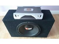 JBL GTO 752 Amplifier and JBL Subwoofer 1000 WATTS
