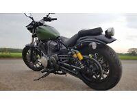 Yamaha XV950, Wiltshire, 12 months MOT