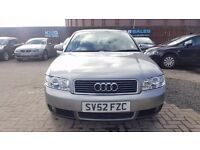 """STUNNING"" AUDI A4 1.9 TDI SPORT (2002) - LOW MILEAGE - TIMING BELT DONE - F.S.H - HPI CLEAR!"
