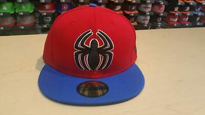 New Era Marvel Spider-man Homecoming Red Blue 2 Tone 59FIFTY Cap Hat NewEra ()