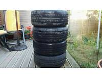 4x Landsail tyres 225/45/R18 only ~100 miles on them!
