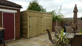 10x14 High Quality Shed