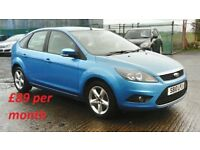 2010 FORD FOCUS ZETEC 1.6 TDCI [£89 p/month]