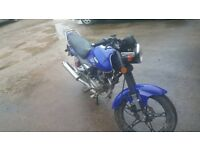 motoroma 125 2015 reg not due 1st mot yet £550ovno