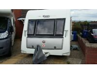 Elddis Affinity 574 with mover