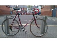 XL 63cm Raleigh Routier 10speed Fast Road Bike Solid Hitensile Steel Frame Good & Ready to Ride Away