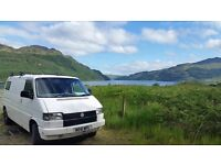 VW T4 2.4 D 1994 LWB Tailgate, partially converted