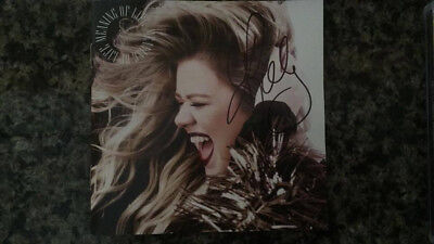 Kelly Clarkson Meaning of Life cd with signed cd booklet autographed