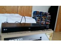 LG multiregion Blu Ray player for sale ( plays Region A , B , C ) . Also plays multiregion DVD.