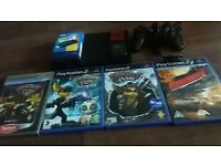 ps2 with games all leads