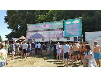 PAID FESTIVAL WORK, CATERING UNIT, SUMMER WORK