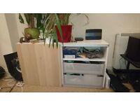 Quality drawers/shelf unit (TV bench)