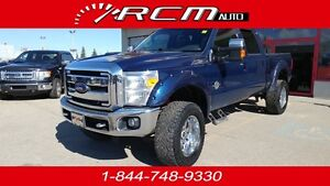 2012 Ford F-350 Super Duty Lariat 4x4 Diesel Truck Full Load 6.7