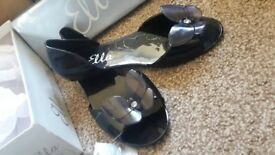 Ladies Butterfly Jelly sandals (size 8)