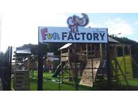 WOW - FREE DELIVERY AND FITTING ON ALL CLIMBING FRAMES THIS MONTH ONLY VISIT SHED FACTORY BOUCHER RD