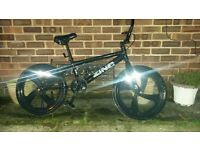 zinc bmx stunt jump show bike not mountain bike carerra barracuda saracen off road fully serviced