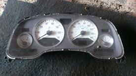 astra mk4 white speedo dials