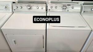 ECONOPLUS LIQUIDATION ENSEMBLE  MAYTAG SANS AGITATEUR 899.99$ TAXES INCLUSES
