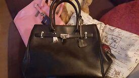 Jasper Black Bag