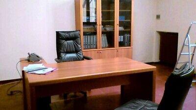 Arredo ufficio completo usato Scrivania, Libreria, Mobile Basso Di Servizio,...