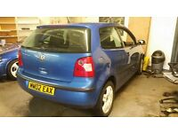 BREAKING 2002 volkswagen polo 1.2s 9n very low mileage engine of only 64k all good engine and box